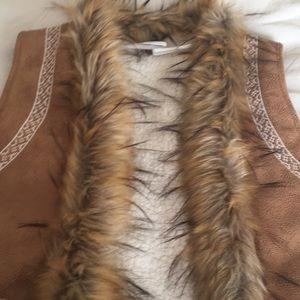 Multiples fur vest